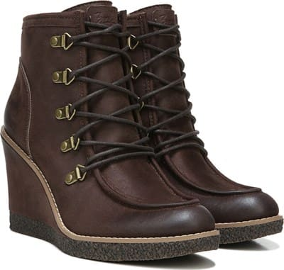 Indy Lace Up Wedge Bootie