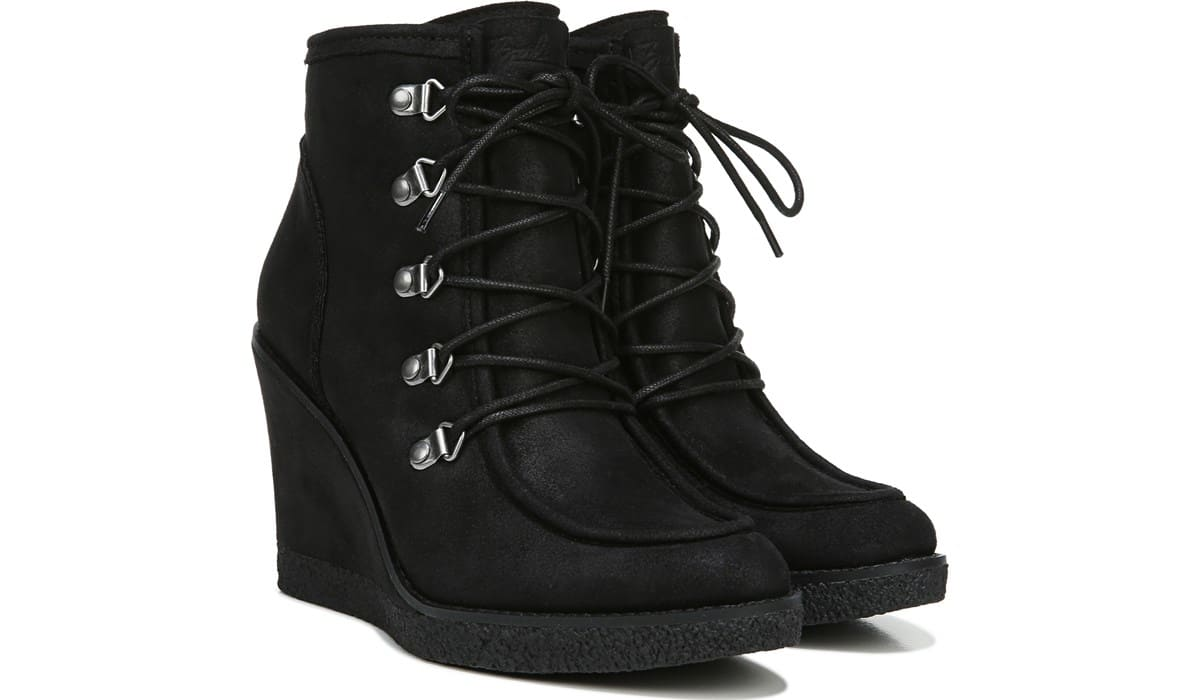 Indy Lace Up Wedge Bootie - Pair