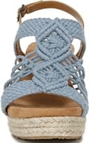 Palm Espadrille Wedge Sandal - Front