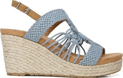 Palm Espadrille Wedge Sandal