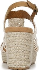 Palm Espadrille Wedge Sandal - Back