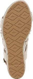 Palm Espadrille Wedge Sandal - Bottom