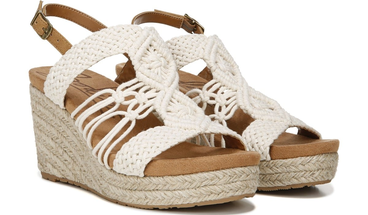 Palm Espadrille Wedge Sandal - Pair