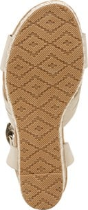 Paola Espadrille Wedge Sandal - Bottom